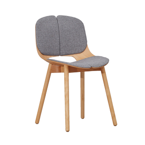 office chairs with 8mm thick plywood 3D bending wood modern design chair