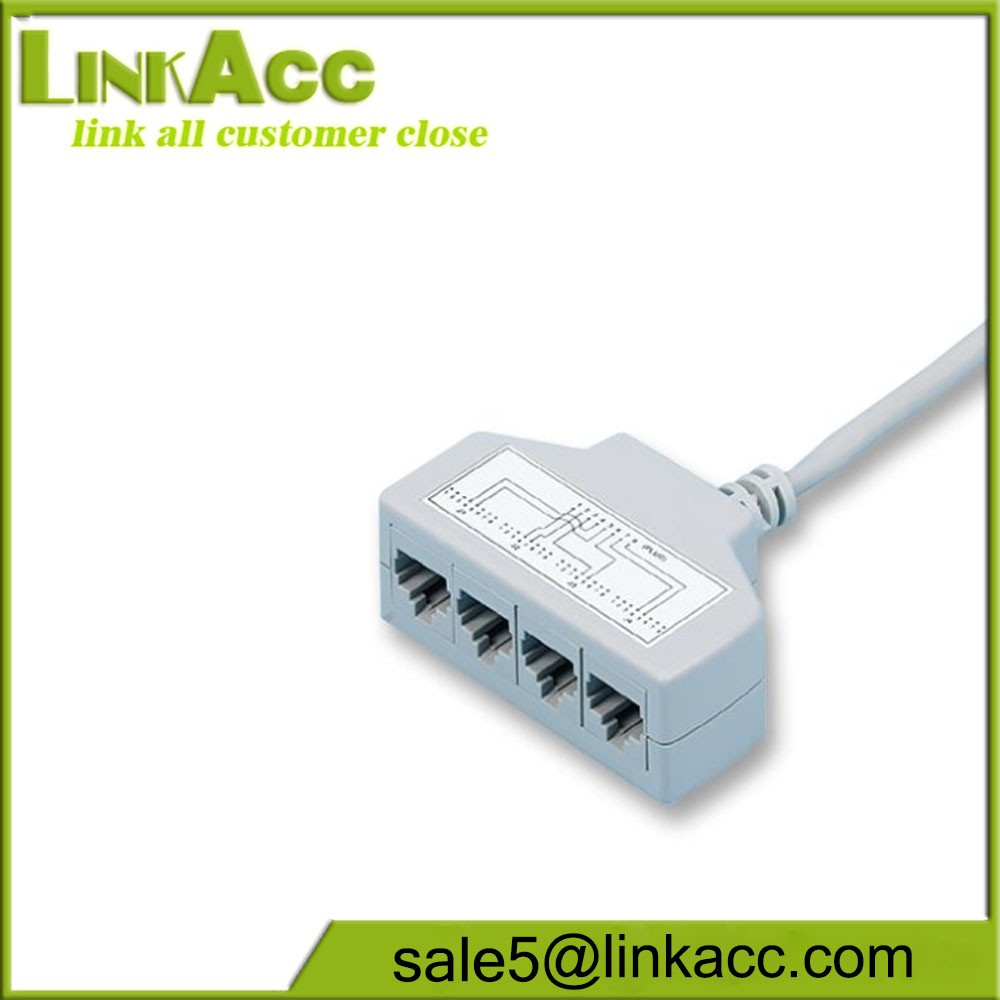 Cat5e Ethernet Cable Splitter: Cat5e 4 Way Ethernet Cable SplitterRj45 Male To 4x Rj11 Female rh:alibaba.com,Design