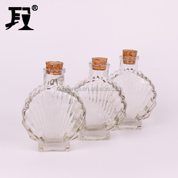 100ml whisky wine glass bottle with cork lid