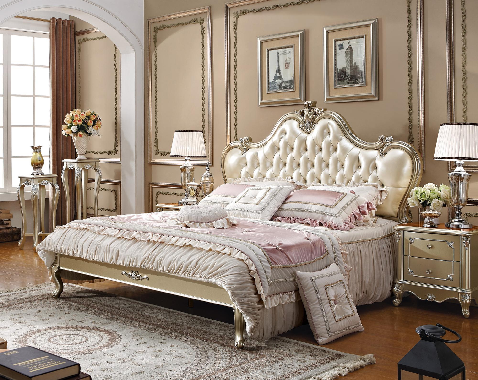 elegant china factory antique style king size bedroom