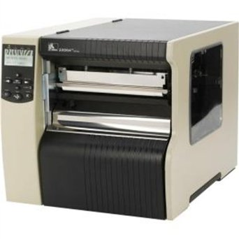 "Zebra Technologies 220-8K1-00000 Series 220XI4 8"" DT/TT Tabletop Printer, 203 dpi Resolution, RS-232 Serial/Parallel/USB 2.0/Internal Zebra net 10/100, B/G Print Server, 16 MB with ZPL II/XML"