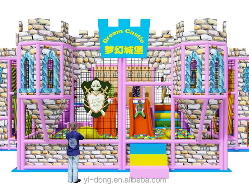 The top brand new dream castle theme kids indoor playground equipment which can inspire kid's exploring desire