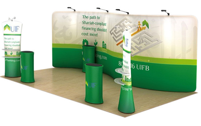 Standard Exhibition Portable Trade Show Booth