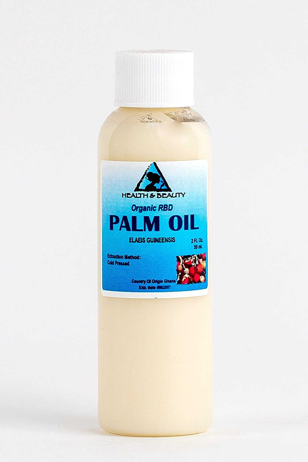 Palm Oil RBD Organic Carrier Cold Pressed Pure 2 oz