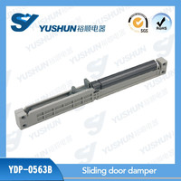 Mechanical door fittings sliding soft close damper