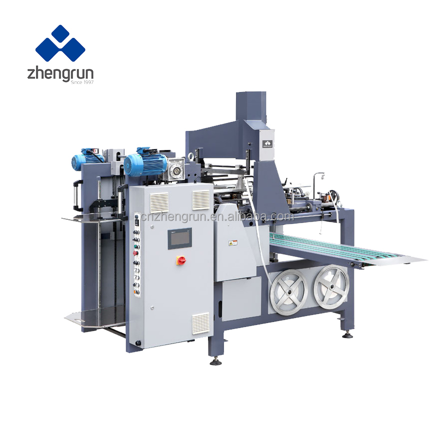 Automatic hot melt machine box corner pasting machine