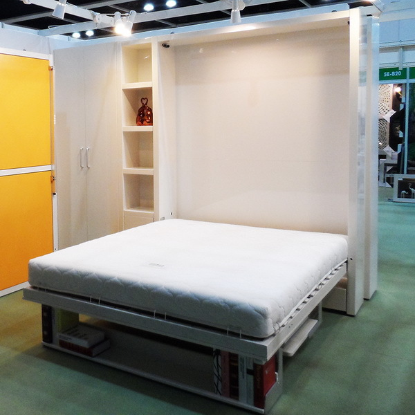 indoor folding wall bedchina supplier folding wall bed with deskwall bed in
