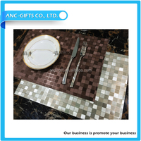 popular placemat kitchen mat heat resistant new design customized recycle cheap tablemat
