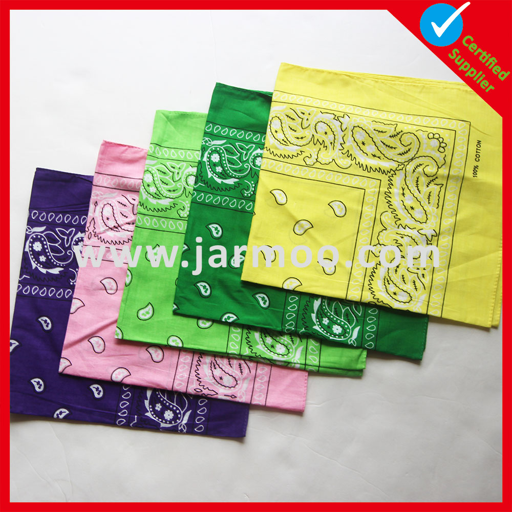 Newest design digital printing adults camouflage bandana