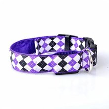 2017 led pet toys,flashing led nylon dog collar,led collar for pet