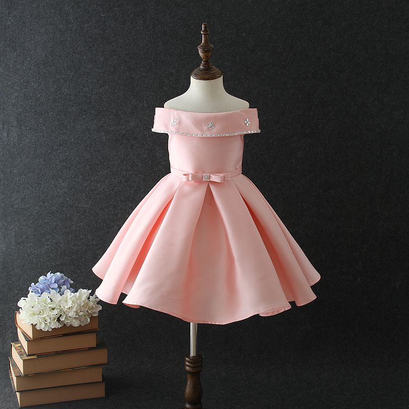 52b25f84c Modern Fashion Design Girls Party Dresses Kids