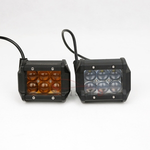 Promotional ip67 waterproof high lumen auxiliary led light bar,4D truck lite led lights for agriculture machine