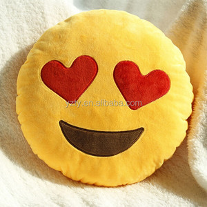 factory wholesale custom whatsapp emoji pillow