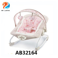 Wholesale electric baby rocker infant bouncer rocking chair with Vibration and Music