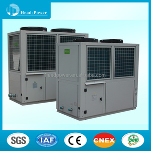 36kw stainless steel panel modular air cooled water chiller