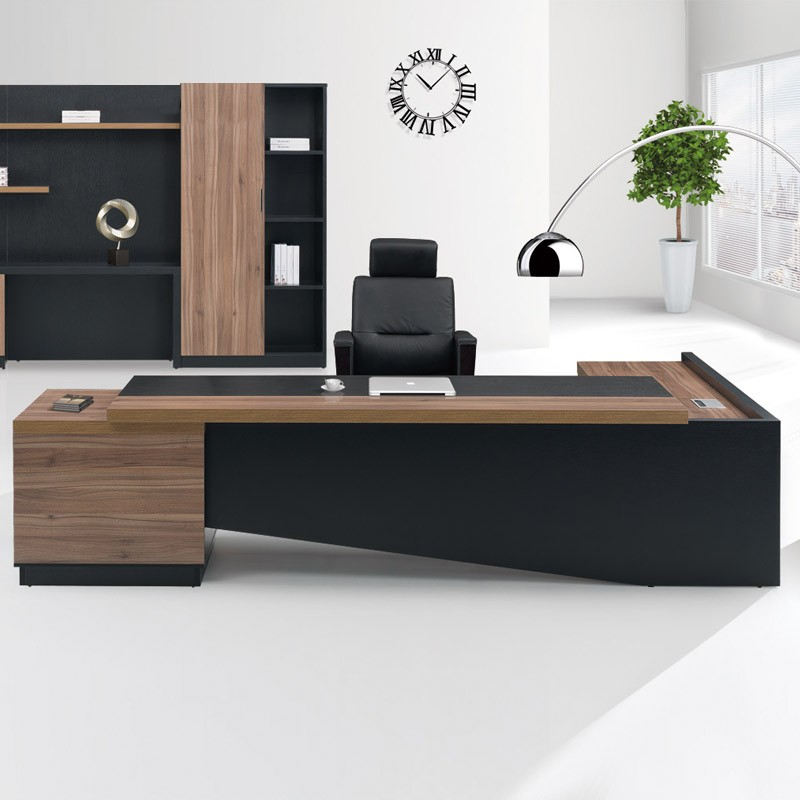 high end office desk. Fashion High End Office System Furniture L Shape Manager Executive Desk With Long Cabinet Alibaba