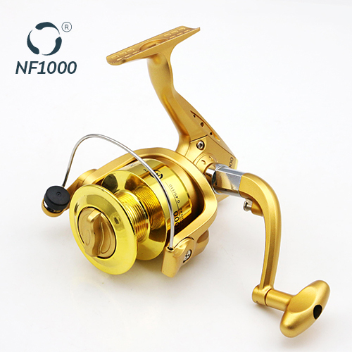 Long Cast Spool High Quality Fishing Equipment NF 1000 Golden Free Sample