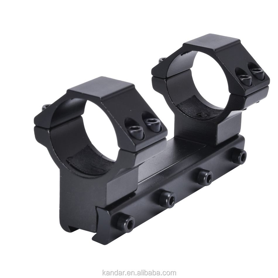 KDM044 Top Flat 30mm Ring Mount 20mm high profile Picatinny Rail Mount for Rifle Scope