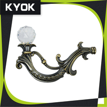 HOT Sale elegant curtain wall hooks for stainless steel curtain rod,Factory Design Curtain Clip Rings With Hooks For Bedroom
