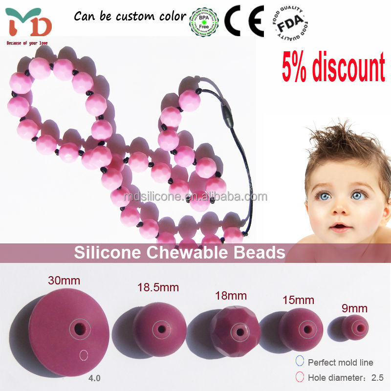 china manufacturer popular designs bpa free food grade silicone cheap bulk jewelry