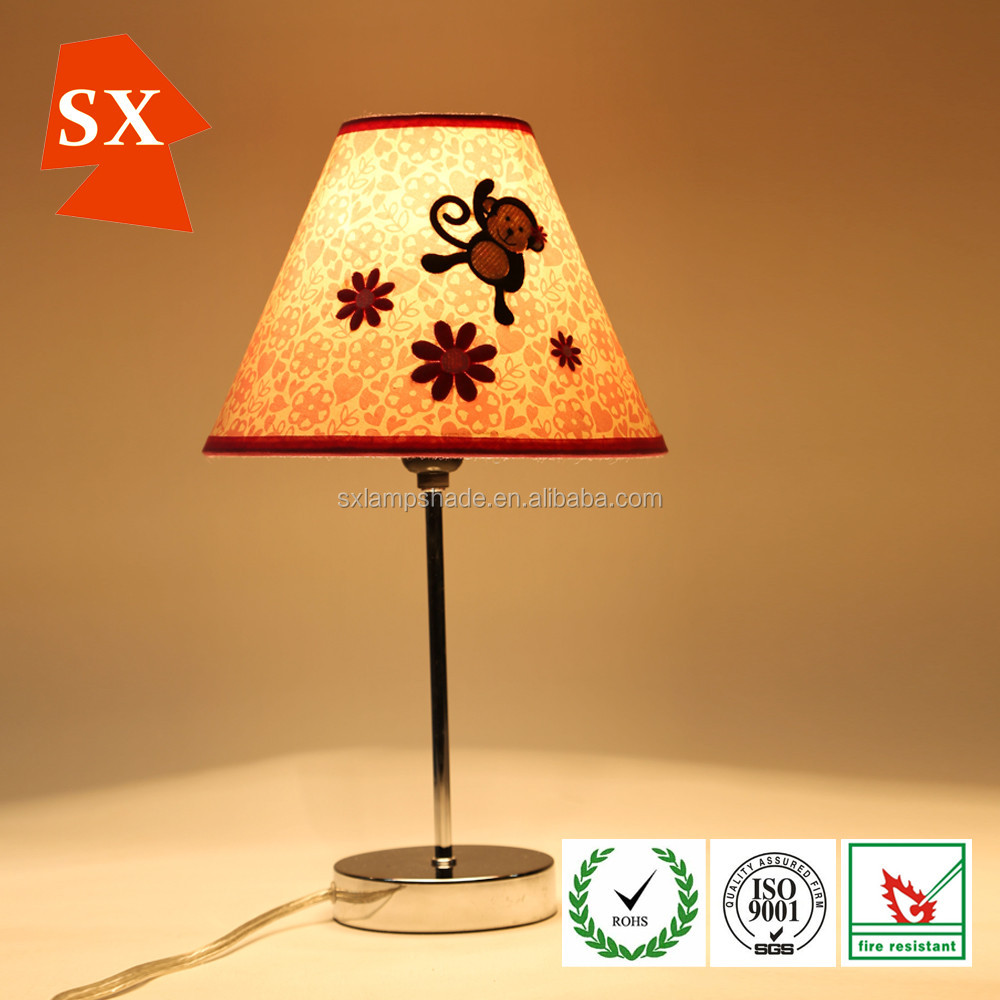 Lovely eco-friendly kids rooms Children bedside study simple table lamp