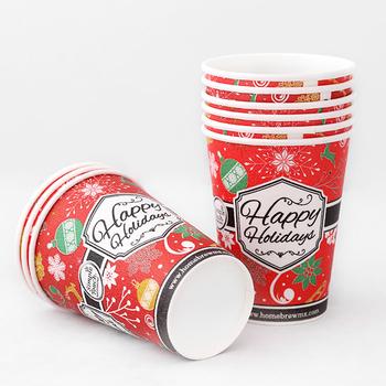 Custom Christmas Printed Disposable Paper Coffee Cup Cup For Coffee Costa Coffee Paper Buy Disposable Coffee Cups Christmaschristmas Paper Coffee