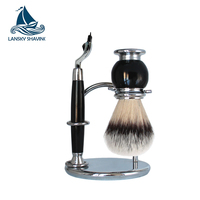 men's gift shaving set incl. razor stand brush