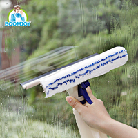 BOOMJOY NEW HANDHELD SPRAY CLEANING WINDOW SQUEEGEE WINDOW CLEANER