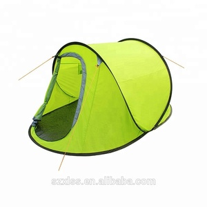 OEM acceptable customized logo pop up tent camping tent with China factory line support Camping Tent 2 Person