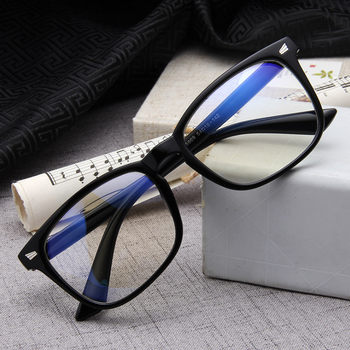 91a0bc0a5f Luxury brand Cheap Men Computer Nerd Eyeglasses Frames For Women Glasses  Transparent Blue Ray Clear lens