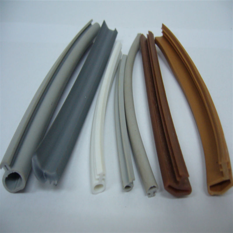 bottom pvc extrusion channel seal for folding bath shower