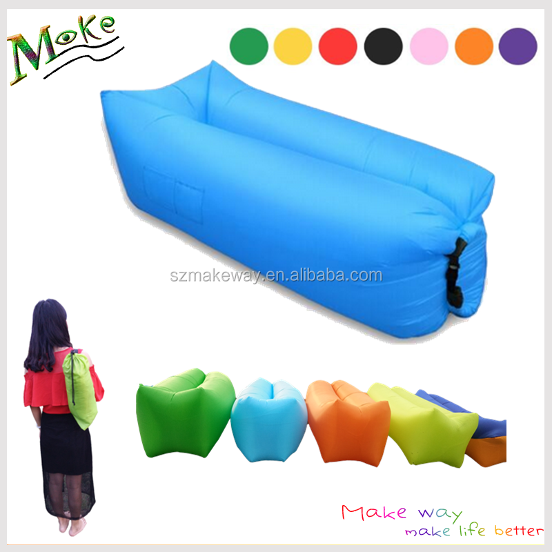 Enjoyable 2017 Outdoor Camping Lazy Bag Loungers Customized Logo Printing Beach Inflatable Air Couch Ultralight Lazy Floor Chair Buy Camping Lazy Pabps2019 Chair Design Images Pabps2019Com