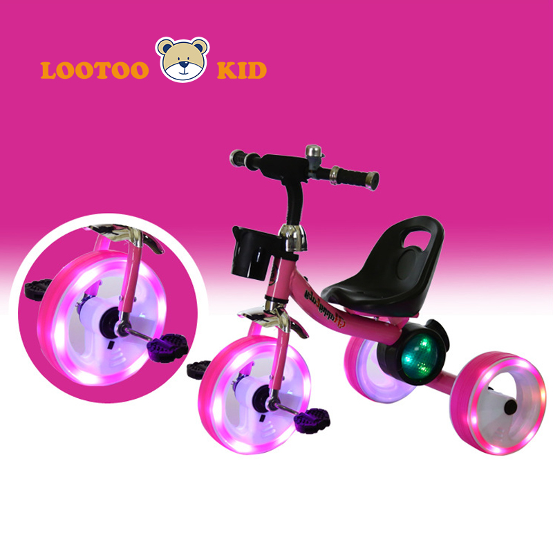 China manufacturer supply child tricycle with inflatable tire / chinese tricycle for kids sale