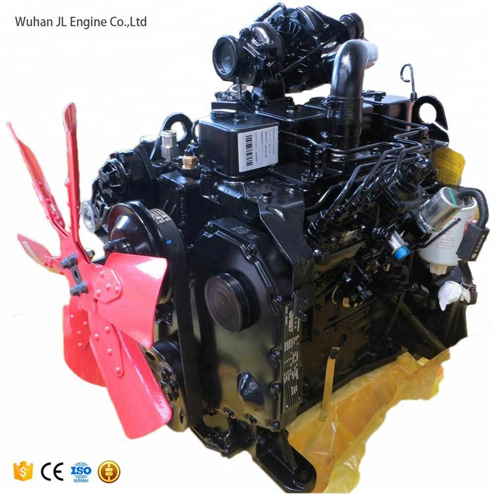 High Quality Turbo 4 Stroke 4 Cylinder 4btaa3 9-c125 Diesel Engine - Buy  4btaa3 9-c125,4btaa3 9-c125 Diesel Engine,4btaa3 9-c125 Engine Product on