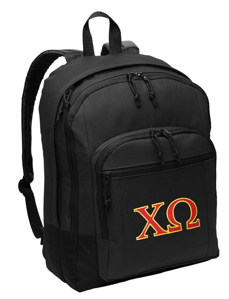 Chi Omega Backpack CLASSIC STYLE Chi O Backpack Laptop Sleeve