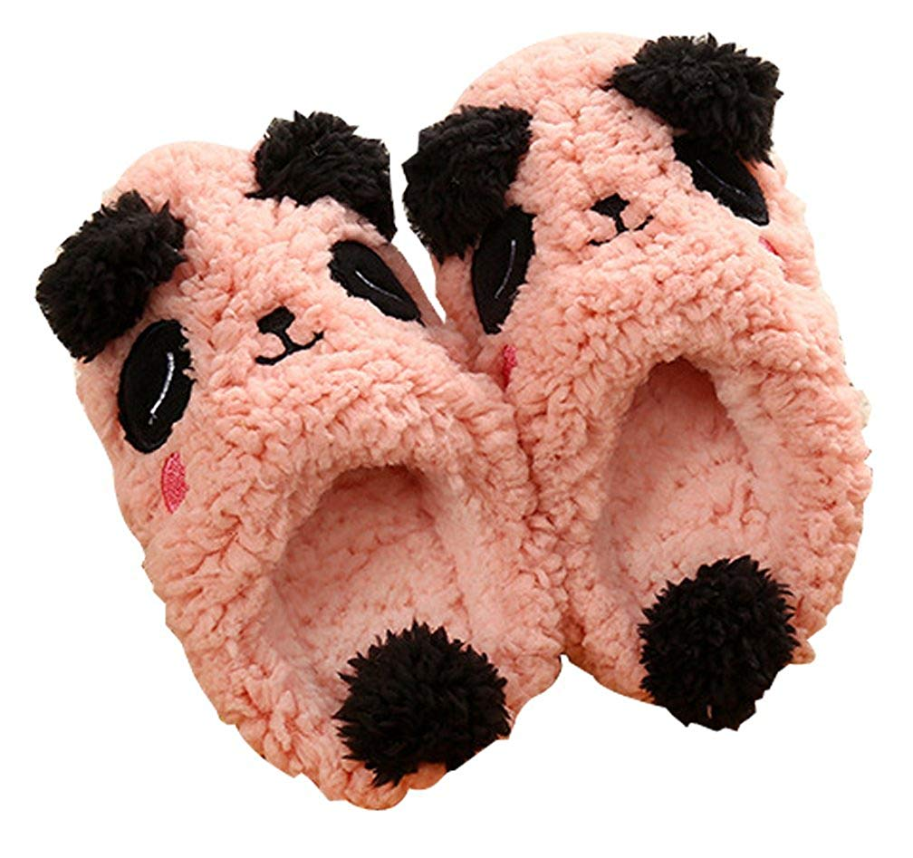 Cattior Toddler Little Kid Cute Kids Slippers Warm House Shoes