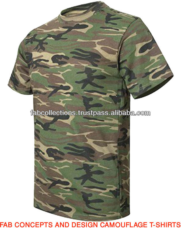 Camouflage T-shirts