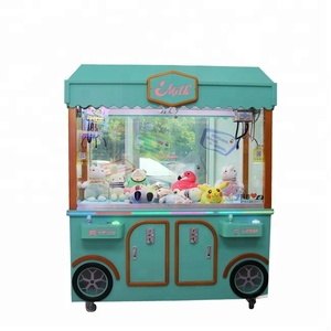 High returne vending machine Double People Together Play toy crane claw machine