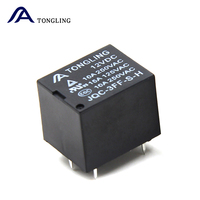 Factory direct jqc-3f Miniature Size 4pin pcb relay t73 10mpa 12v relay