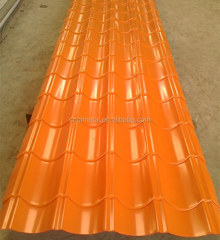 Long Span Color Coated Zinc Roofing Sheet For Roofing Building ...