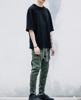 Personalizzato Streetwear Fashion T-Shirt Casual Oversize Abbigliamento  Streetwear 91ca99ac206