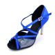 Simple style high heel women ballroom dance shoes latin dance shoes hot sale