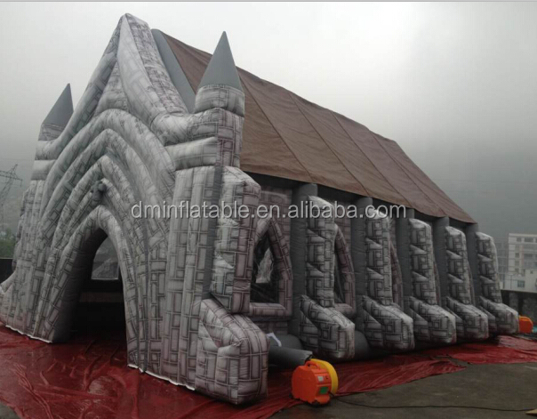 Giant Inflatable Castle Tent For Wedding & Giant Castle Tent u0026 Princess Castle Tent With Large Star Lights ...