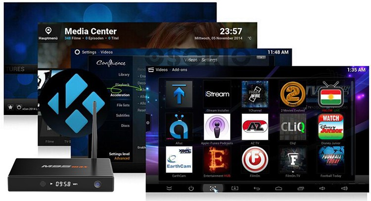 Desi Tv Box Quad Core Codi M9s Max 2g 32g Ott Smart Android Tv Box Turkish  Channels Ip Tv Box - Buy Desi Tv Box,S905 Quad Core Codi M9s Max,Turkish