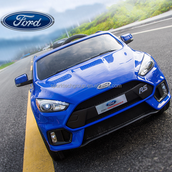 New Arrival Best Ing Products Licensed Ford Focus Rs Kids Battery Cars Electric Toy Car