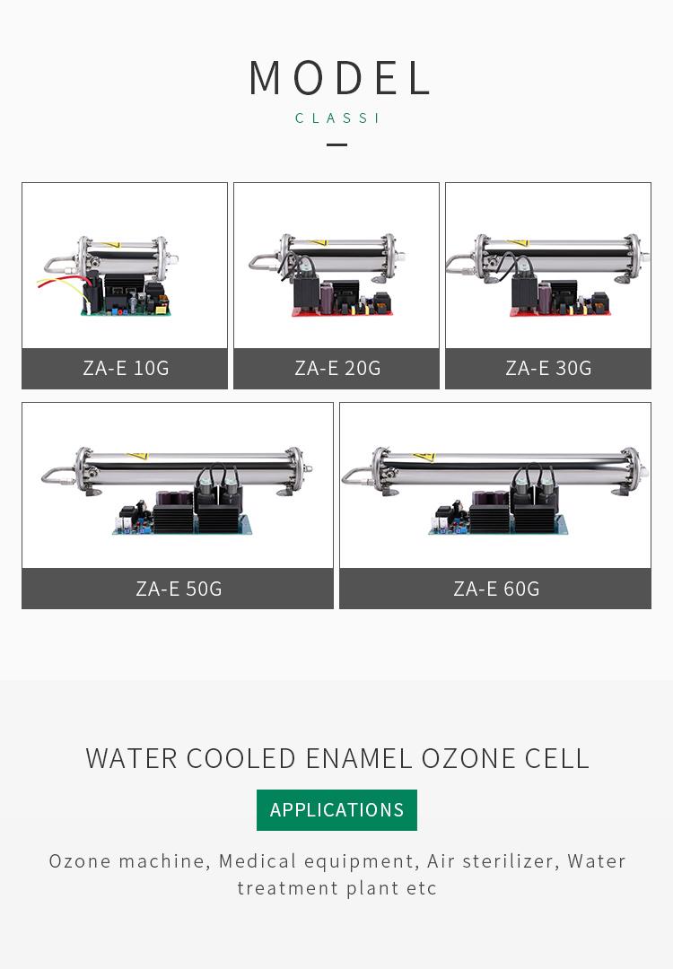 Langlebigkeit geradores de ozônio kits und teile 10 gr emaille ozonator rohr