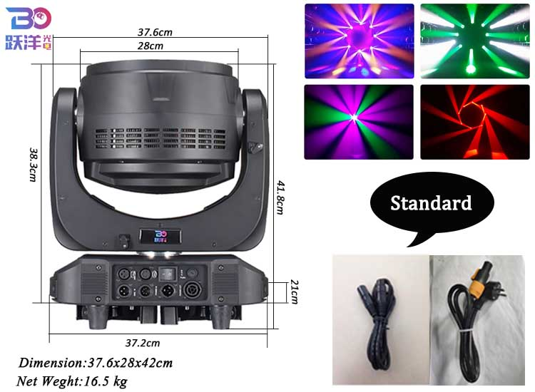 China wholesale BEYOND Lighting Factory Direct Sale lighting stage Bee Eye K20 4-in-1 Zoom 1940 RGBW Beam for stage Dj equipment