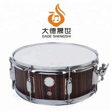 "Percussion Musical Instrument mit Drummers Key PVC Glossy Finish auf Pappel Holz Shell 14 ""x 5,5"" Snare Drum"