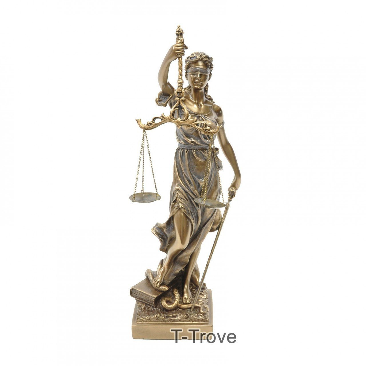 Cheap bronze lady justice find bronze lady justice deals on line get quotations cold cast bronze lady justice la justitia statue figurine buycottarizona