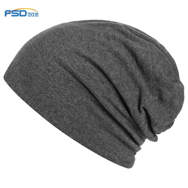 Bamboo Unisex Lightweight custom Beanie Sleep Cap - Super Soft Skull Cap Knit Slouchy Beanie Stylish Thin